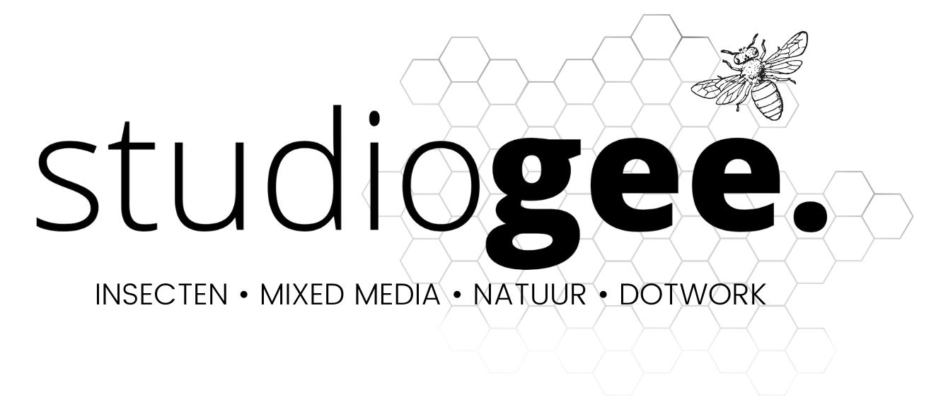 zwart logo studio Gee
